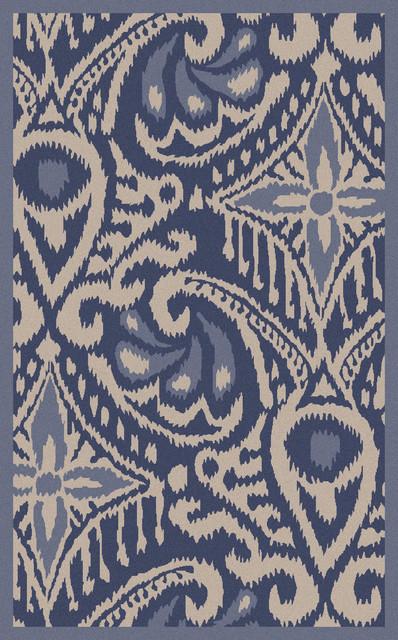 Surya marseille mrs 2006 cobalt plum rug contemporary for Autrefois home decoration marseille
