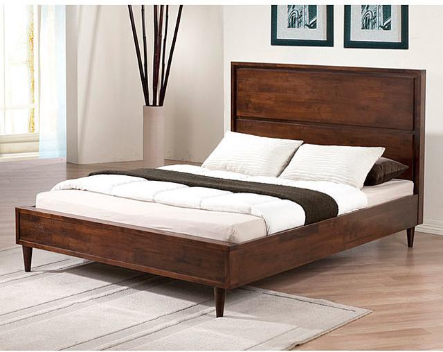 Vilas Platform Full Size Bed Contemporary Platform