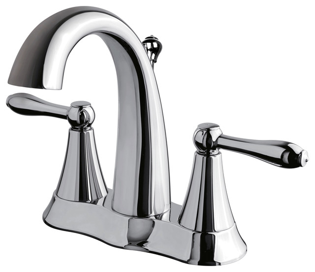 Ultra Faucets Chrome Finish Two Handle Lavatory Faucet