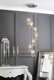 Marquis By Waterford Pendant In Living Room
