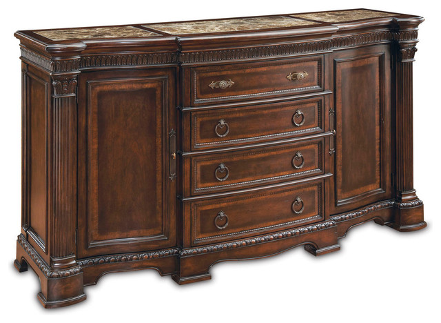 A R T Capri Buffet Traditional Buffets And Sideboards By Carolina Rustica
