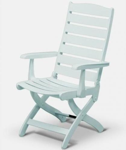 kettler caribic resin high back chair modern folding