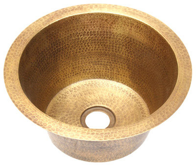 Brass Sink : ... Brass Bar Sink - Traditional - Bar Sinks - by Copper Sinks Direct