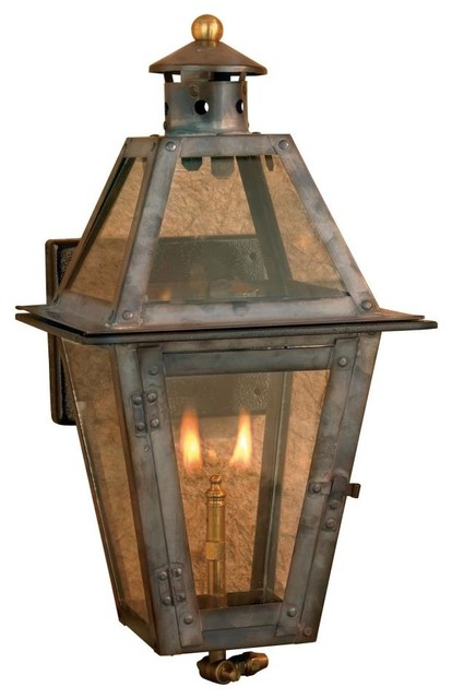 Wall Gas Lights : Elk Lighting-7900-WP-Maryville - One Light Gas Wall Lantern - Traditional - Outdoor Lighting ...
