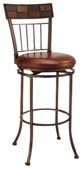 Hillsdale montero 24 inch counter height stool - Traditional kitchen bar stools ...