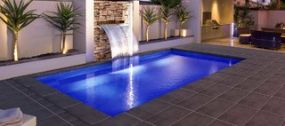 Executive 7m modern adelaide by freedom pools for Pool and landscape design adelaide
