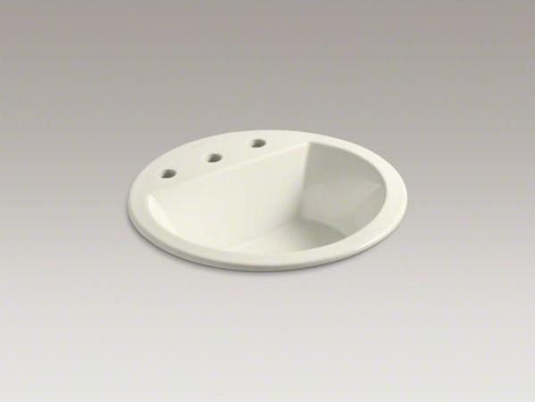 Kohler Bryant R Round Drop In Bathroom Sink With 8