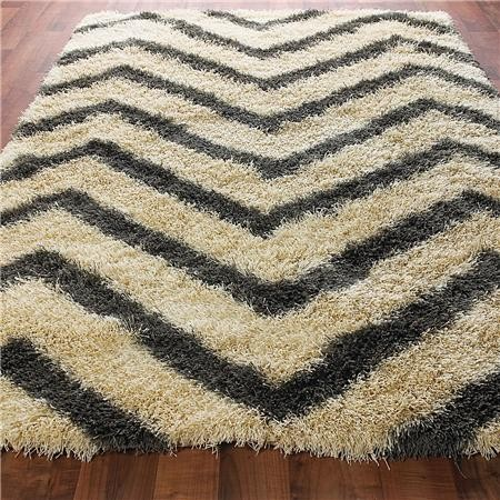 white metallic cowhide rug