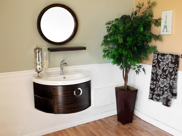 34 Arginio Single Bath Vanity Modern Bathroom Vanities And Sink Consoles San Diego By