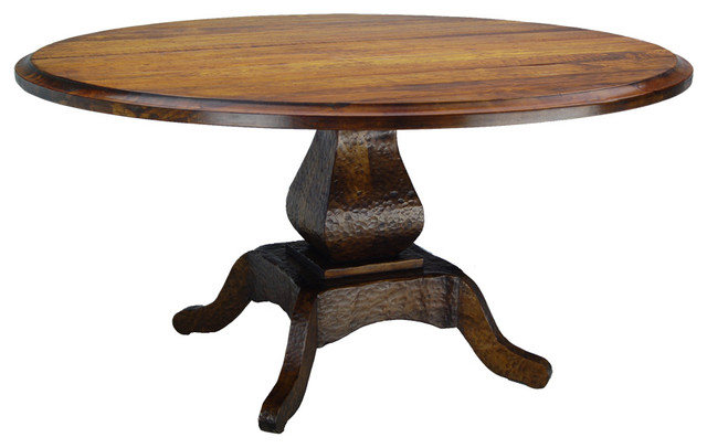 Comparsa Round Dining Table Traditional Dining Tables