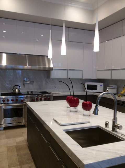 Bel Air Contemporary Kitchen Remodel