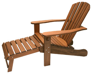 Adirondack Lounge Chair - Adirondack Chairs - by Outdoor Interiors