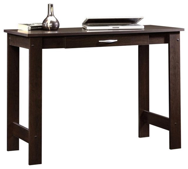 Sauder Beginnings Writing Table in Cinnamon Cherry Finish - Transitional - Desks And Hutches ...