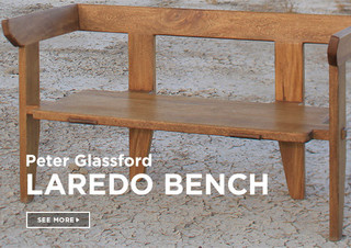 Peter Glassford Laredo Coffee Table Indoor Benches New York By Bespoke Global