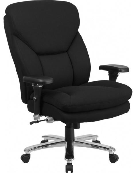 Furniture Black Fabric Big Tall Chair Modern Living Room Chairs