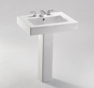 Toto Pedestal Bathroom Sink Contemporary Bathroom Sinks By Faucet Direct