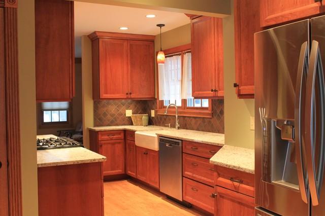 Galley kitchen, Libertyville modern-kitchen