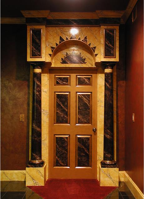 Art Deco Movie Palace Home Theater Atlanta By