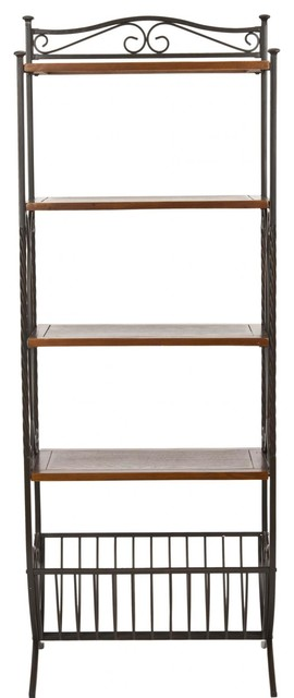 Amelia Etagere - Transitional - Bookcases - by zopalo