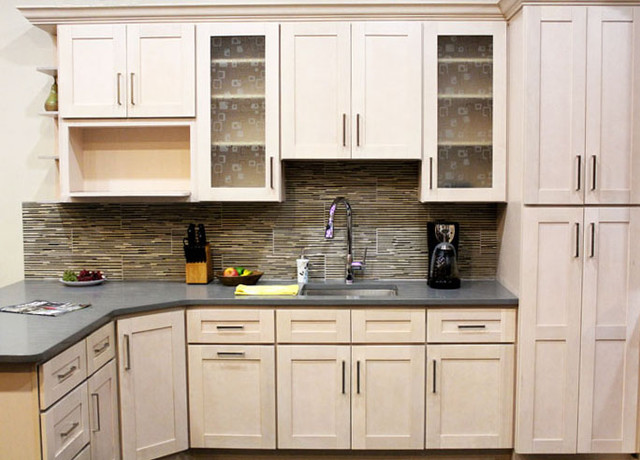Coline Cabinetry - Contemporary - Kitchen Cabinetry - boston - by LP Custom Countertops, LLC