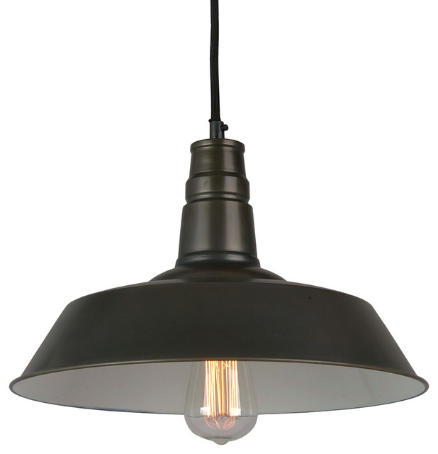 Calvin Industrial Pendant Light Black farmhouse pendant lighting