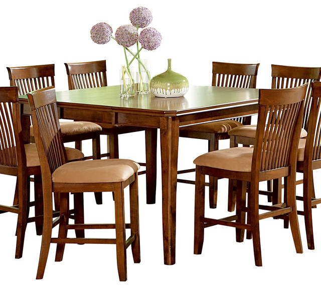 ... Montreal Counter Height Table with Leaf traditional-dining-tables
