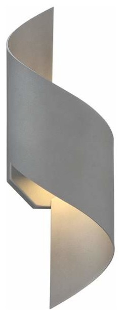 Modern Forms Helix 1 Light LED Indoor Outdoor Wall Sconce 6 Inches Wide