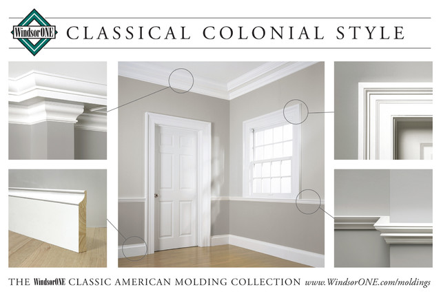 Windsorone Classical Colonial Moldings Traditional