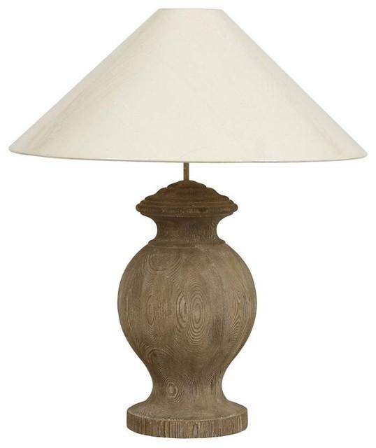 Lampe charme bois moderne lampe poser par interior 39 s - Lampe moderne een poser ...