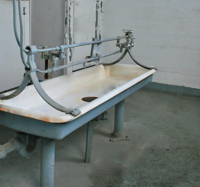 The Trough Sink Traditional Bathroom Sinks New York By Positive Space Design