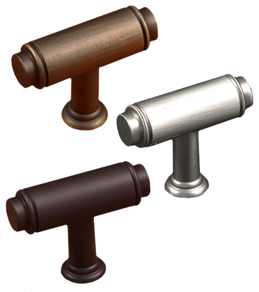 Cylinder Cabinet Knob - Industrial - Cabinet And Drawer Knobs - miami ...