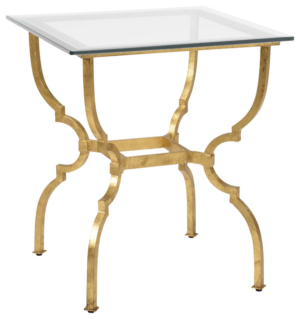 Chelsea house norwich gold side table 381995 traditional for Coffee tables norwich