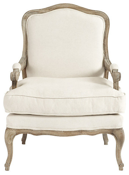 Louisa Bergere Chair Traditional Armchairs And Accent