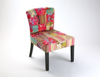 Rio fauteuil patchwork contemporary armchairs accent chairs by in - Fauteuil crapaud patchwork ...