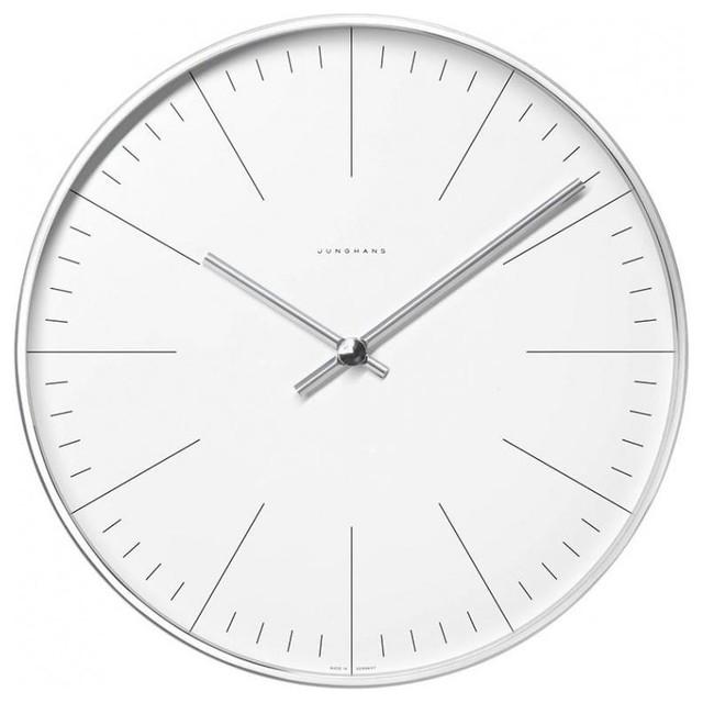 max bill funk wanduhr modern wall clocks by. Black Bedroom Furniture Sets. Home Design Ideas