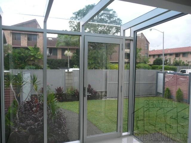 Aluminum Windows And Doors Gold Coast : A residence glass conservatory palm beach windows