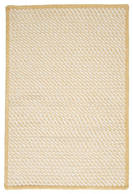 Braided twisted area rug contemporary hall and stair for Contemporary runner rugs for hallway