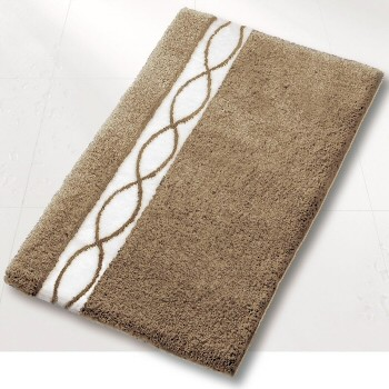 Contemporary Taupe Bathroom Rug Contemporary Bath Mats Other