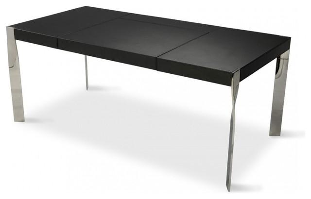 schreibtisch letitia schwarz moderno escritorios de. Black Bedroom Furniture Sets. Home Design Ideas