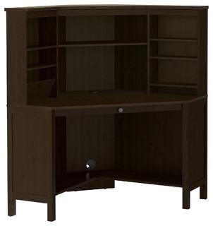 hemnes landhausstil schreibtische aufs tze von ikea. Black Bedroom Furniture Sets. Home Design Ideas