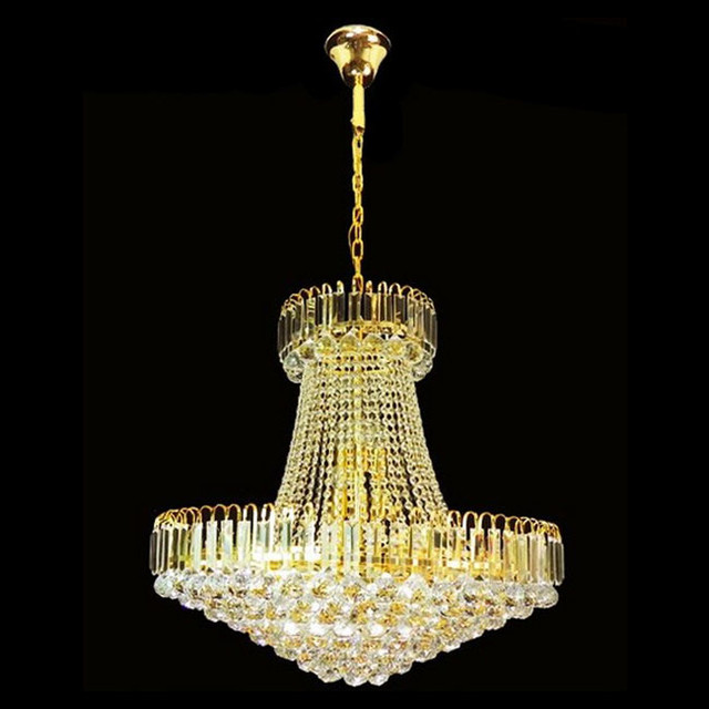 Modern Gold Crystal Chandelier Contemporary Chandeliers New York By Phoenix Lighting