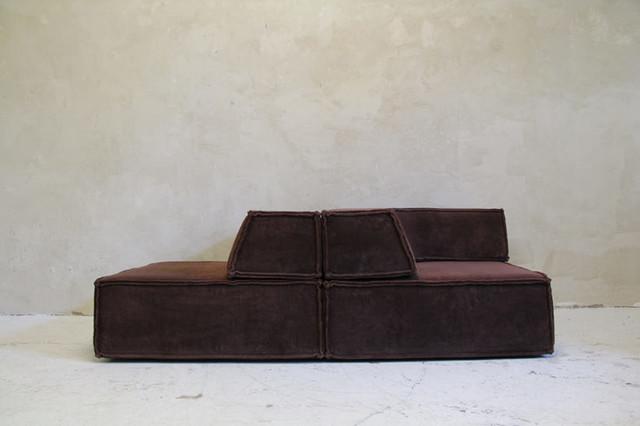 trio sitzelemente cor deutschland 1973 modern eck. Black Bedroom Furniture Sets. Home Design Ideas