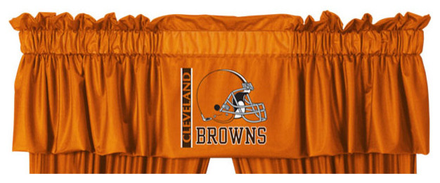 Nfl Cleveland Browns Football Logo Locker Room Valance