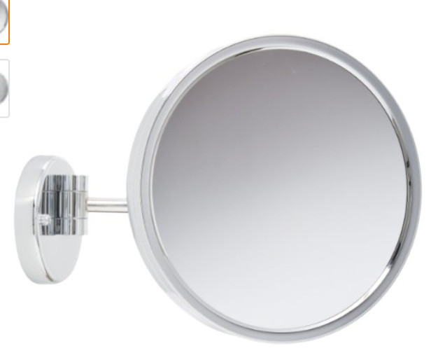 Jerdon Jd12cf 9 Inch Adjustable Wall Mount Mirror With 3x Magnification 15 Inch Contemporary