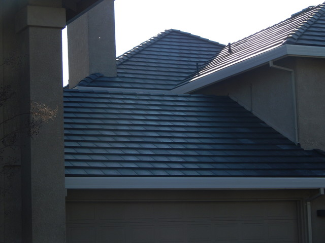 Wood Shake Roof to Tile Roof