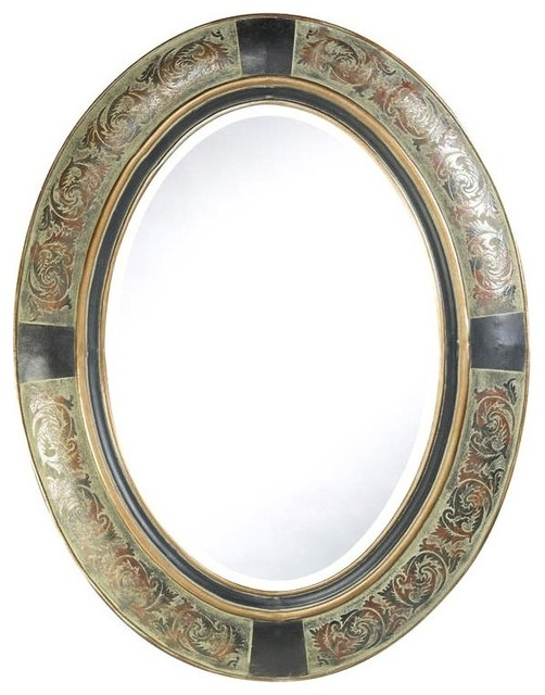 Sawyer Oval Mirror - Contemporary - Wall Mirrors - by ShopLadder