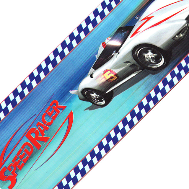 Speed Racer Racing Cars Mach 5 Wallpaper Border Accent ...