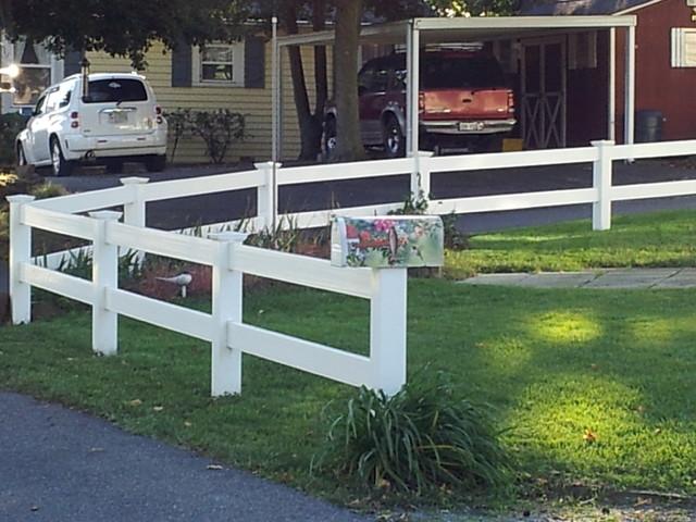 Splilt Rail Fence