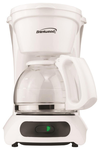 Coffee Maker Oxone 212 : Brentwood TS-212 4 Cup Coffee Maker- White - Contemporary - Coffee Makers - by Overstock.com