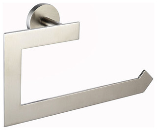 Kraus Imperium Bathroom Accessory - Towel Ring Brushed Nickel ...